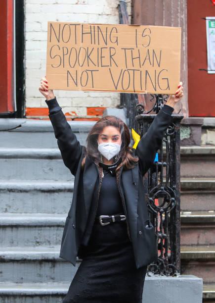 NY: Celebrity Sightings In New York City - October 26, 2020
