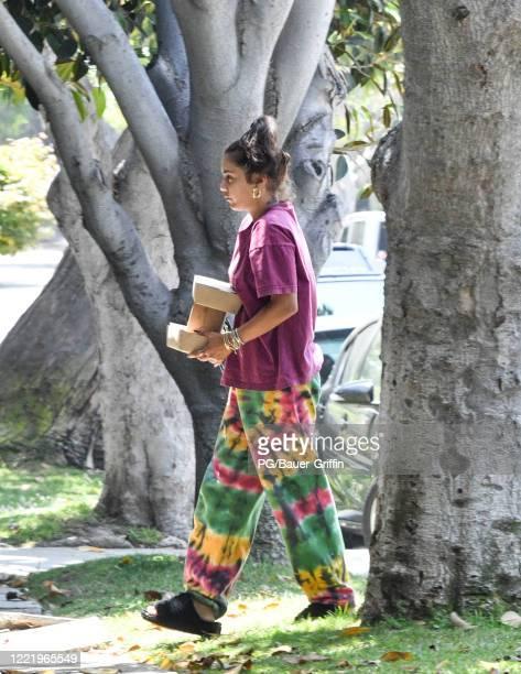 Vanessa Hudgens is seen on June 22, 2020 in Los Angeles, California.