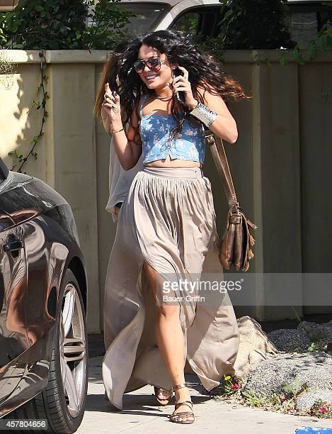 Vanessa Hudgens is seen on May 11 2012 in Los Angeles California