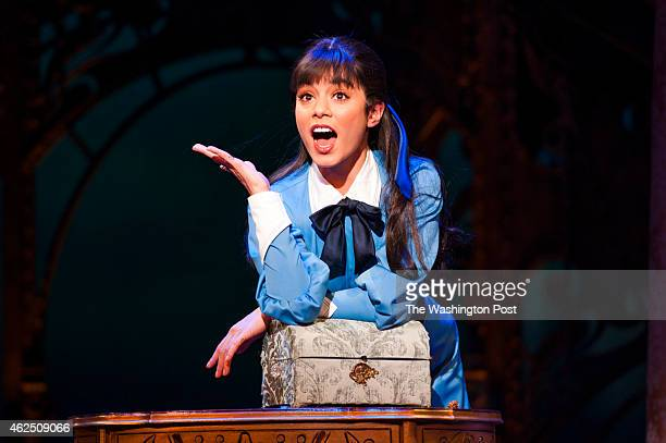 Vanessa Hudgens plays the title character in Gigi during dress rehearsal at the Kennedy Center January 2015 in Washington DC