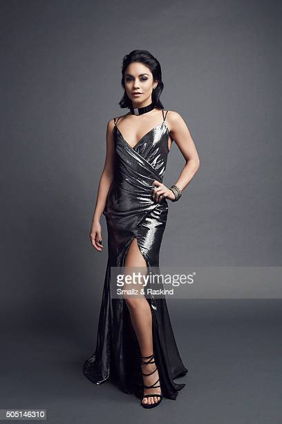 Vanessa Hudgens poses for a portrait at the 2016 People's Choice Awards at the Microsoft Theater on January 6 2016 in Los Angeles California