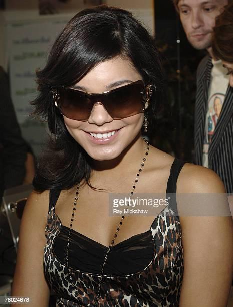 Vanessa Hudgens wearing Dior Airspeed 1 sunglasses