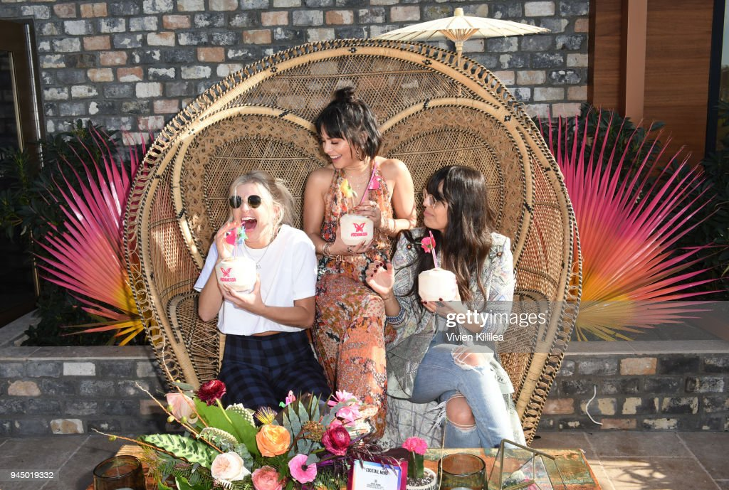 Vanessa Hudgens x SinfulColors Festival Collection at The Highlight Room at the Dream Hollywood on April 11, 2018 in Hollywood, California.