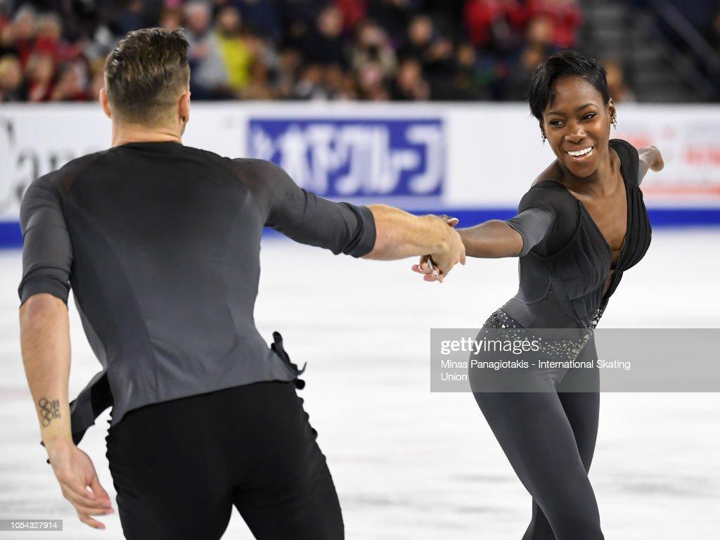ISU Grand Prix of Figure Skating Skate Canada International : Photo d'actualité