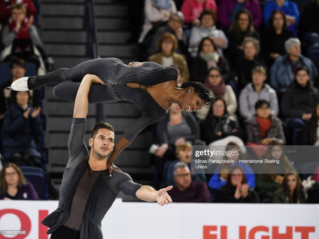 ISU Grand Prix of Figure Skating Skate Canada International : News Photo