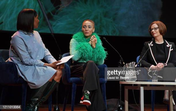 Vanessa Kingori Adwoa Aboah and Julia Gillard attend British Vogue's Forces For Change during the WOW Women Of The World Festival at Southbank Centre...