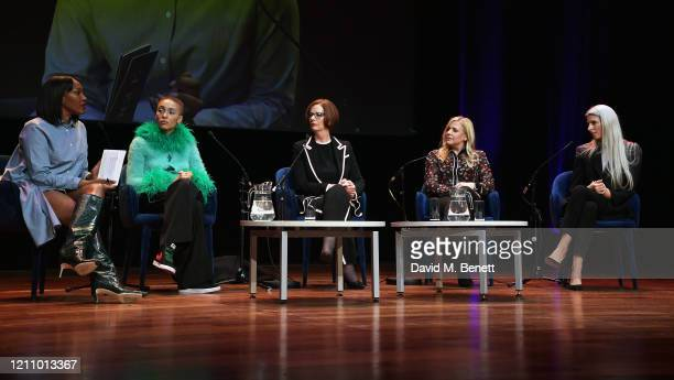 Vanessa Kingori Adwoa Aboah Julia Gillard Michelle Roberts and Sarah Harris attend British Vogue's Forces For Change during the WOW Women Of The...