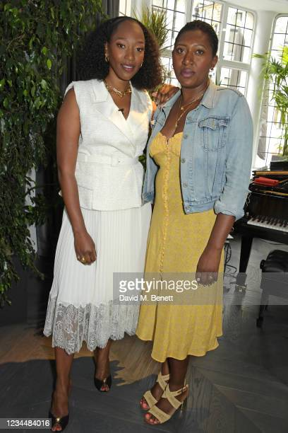 Vanessa Kingori and Patricia Kingori attend the Vogue 25 event hosted by British Vogue in association with Audemars Piguet to celebrate women shaping...