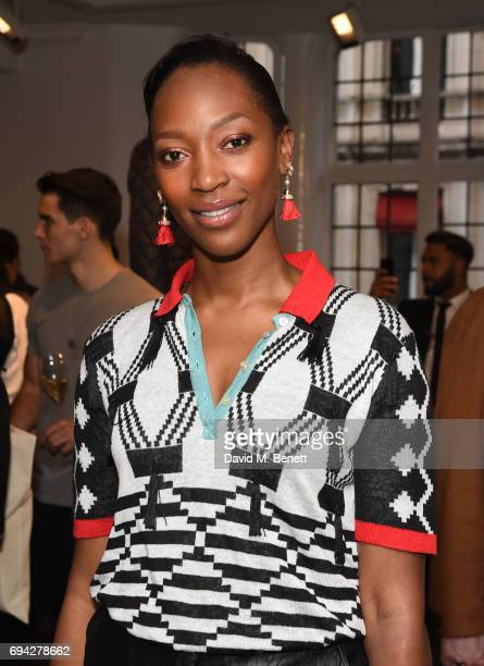 Vanessa Kingori attends the dunhill London presentation during the London Fashion Week Men's June 2017 collections on June 9 2017 in London England