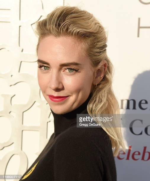 Vanessa Kirby arrives at the American Friends Of Covent Garden 50th Anniversary Celebration at Jean-Georges Beverly Hills on July 10, 2019 in Beverly...