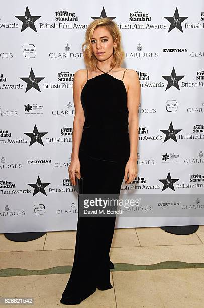 Vanessa Kirby arrives at The London Evening Standard British Film Awards at Claridge's Hotel on December 8 2016 in London England