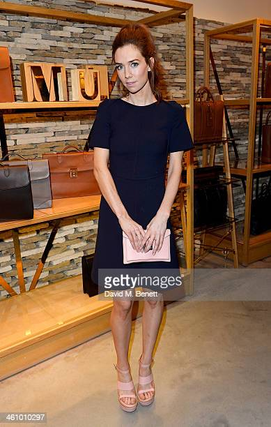 Vanessa Kirby attends a cocktail party hosted by Mulberry in its flagship store on New Bond Street in celebration of London Collections Mens and...