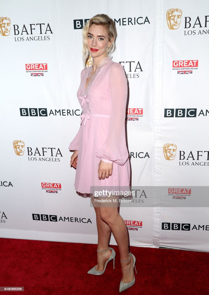 Vanessa Kirby attends the BBC America BAFTA Los Angeles TV Tea Party 2017 at The Beverly Hilton Hotel on September 16, 2017 in Beverly Hills, California.