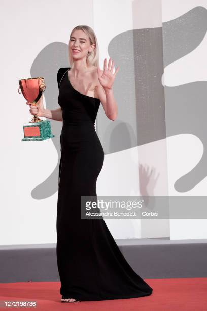 Vanessa Kirby attends the closing ceremony at the 77th Venice Film Festival on September 12, 2020 in Venice, Italy.