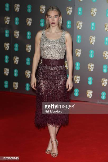 Vanessa Kirby attends the EE British Academy Film Awards 2020 at Royal Albert Hall on February 02, 2020 in London, England.