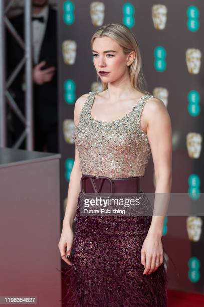 Vanessa Kirby attends the EE British Academy Film Awards ceremony at the Royal Albert Hall on 02 February 2020 in London England PHOTOGRAPH BY Wiktor...