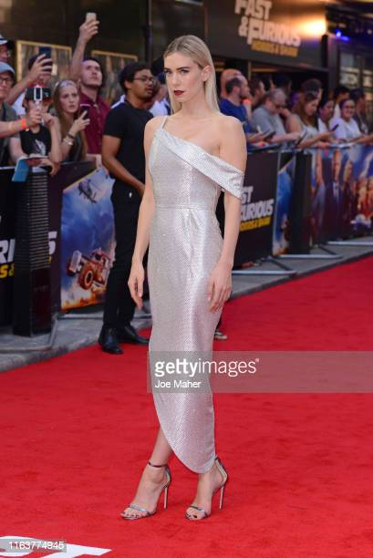 """Vanessa Kirby attends the """"Fast & Furious: Hobbs & Shaw"""" Special Screening at The Curzon Mayfair on July 23, 2019 in London, England."""