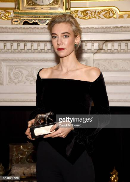 Vanessa Kirby attends the Leopard Awards in Aid of the Prince's Trust at Goldsmith's Hall on November 15 2017 in London England