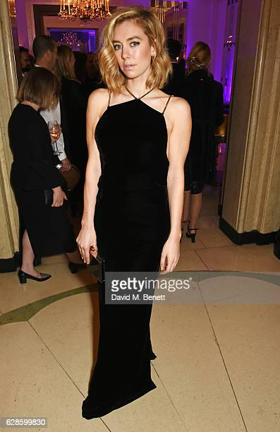 Vanessa Kirby attends The London Evening Standard British Film Awards at Claridge's Hotel on December 8 2016 in London England