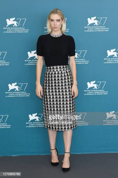 Vanessa Kirby attends the photocall of the movie The World To Come at the 77th Venice Film Festival on September 06 2020 in Venice Italy