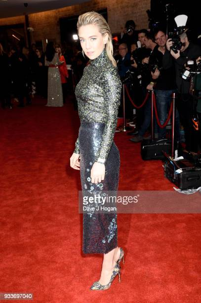 Vanessa Kirby attends the Rakuten TV EMPIRE Awards 2018 at The Roundhouse on March 18, 2018 in London, England.