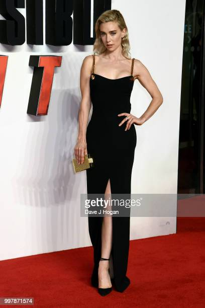 Vanessa Kirby attends the UK Premiere of 'Mission Impossible Fallout' at BFI IMAX on July 13 2018 in London England
