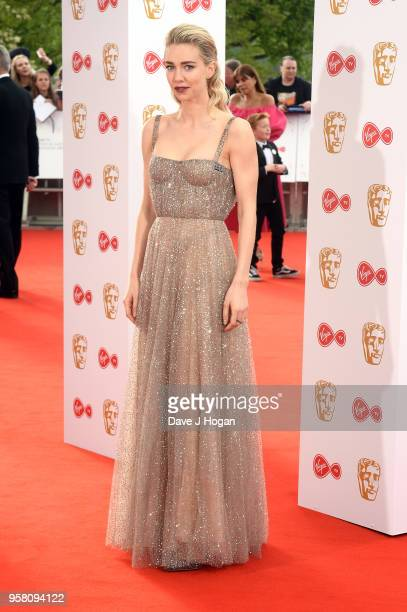 Vanessa Kirby attends the Virgin TV British Academy Television Awards at The Royal Festival Hall on May 13 2018 in London England