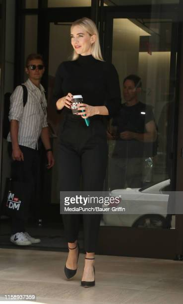 Vanessa Kirby is seen on August 01 2019 in New York City