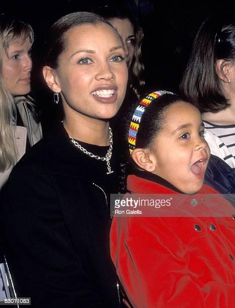 Vanessa L Williams and daughter Melanie Hervey