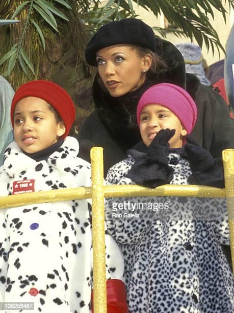 Vanessa L Williams and daughters Melanie Hervey and Jillian Hervey