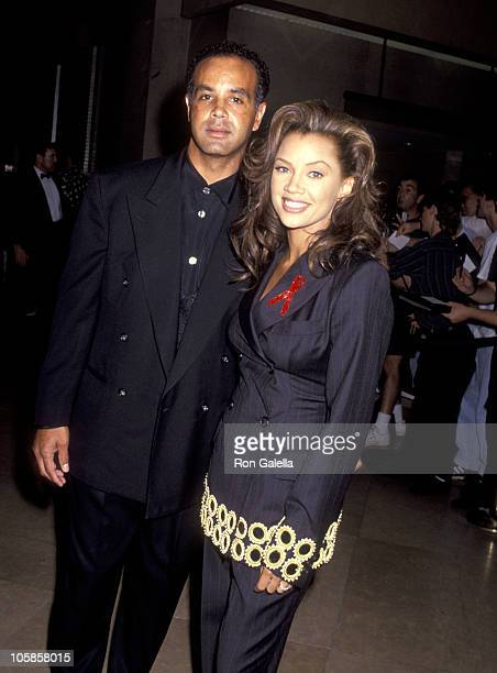 Vanessa L Williams and Ramon Hervey during 9th Annual American Cinema Awards at Beverly Hilton Hotel in Beverly Hills CA United States