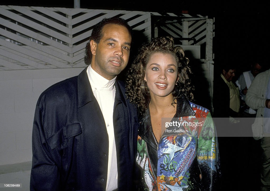 Vanessa L. Williams and Ramon Hervey Sighting at Spago - December 06, 1988 : News Photo