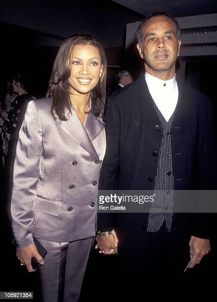 Vanessa L Williams and Ramon Hervey during Victor/Victoria Broadway Opening at Marquis Theater in New York City New York United States
