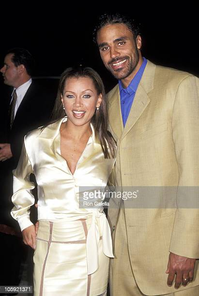 Vanessa L Williams and Rick Fox during Premiere of Light It Up at Cinerama Dome Theatre in Hollywood California United States