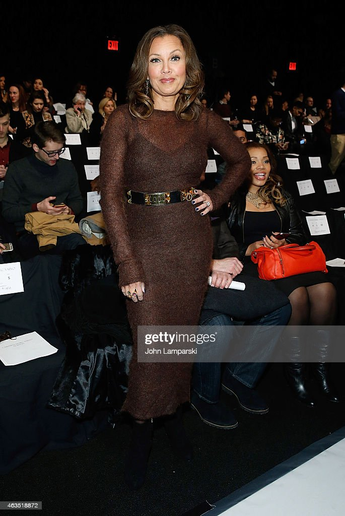 Carmen Marc Valvo - Front Row & Backstage - Mercedes-Benz Fashion Week Fall 2015
