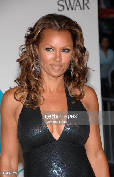 Vanessa L Williams during 2007 CFDA Fashion Awards Red Carpet at New York Public Library in New York City New York United States