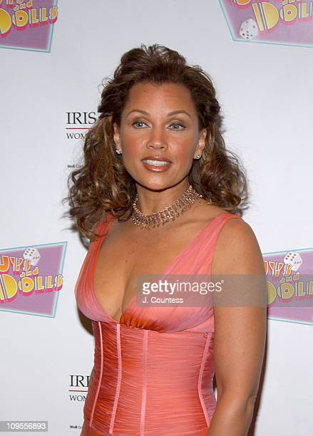 Vanessa L Williams during An Evening of Music From Guys and Dolls to Benefit the Iris Cantor Women's Health Center at Sheraton New York Hotel in New...
