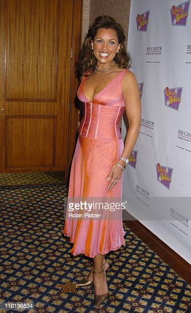 Vanessa L Williams during An Evening of Music From Guys and Dolls to Benefit the Iris Cantor Women's Health Center at The Sheraton New York Hotel in...
