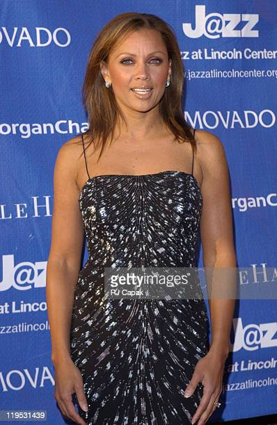 Vanessa L Williams during 'Comin Home To Harlem' The Inaugural Jazz At Lincoln Center Spring Benefit at The Apollo Theater in New York City New York...