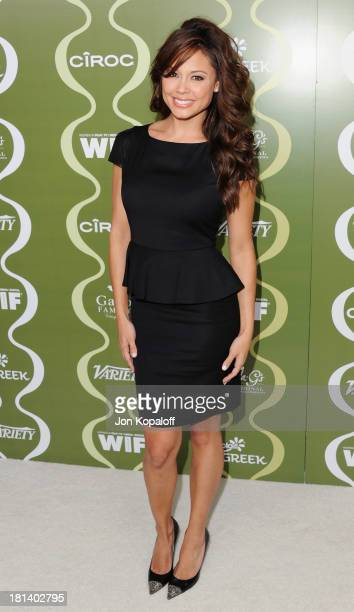 Vanessa Lachey arrives at the Variety And Women In Film Pre-Emmy Party at Scarpetta on September 20, 2013 in Beverly Hills, California.
