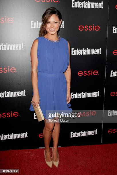 Vanessa Lachey attends the Entertainment Weekly SAG Awards preparty at Chateau Marmont on January 17 2014 in Los Angeles California