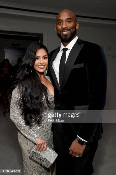 Vanessa Laine Bryant and Kobe Bryant attend Sean Combs 50th Birthday Bash presented by Ciroc Vodka on December 14 2019 in Los Angeles California