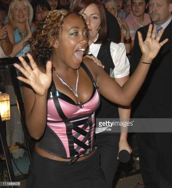 Vanessa LaytonMcIntosh during 'Big Brother 6' 7th Eviction at Elstree in London United Kingdom