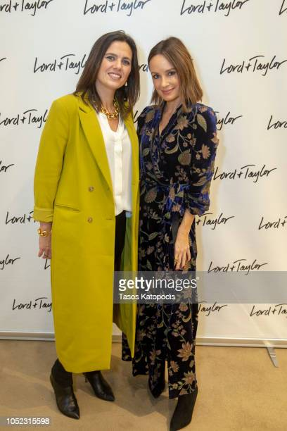Vanessa LeFebvre President of Lord Taylor and Catt Sadler host a Women's Empowerment Conversation At Lord Taylor on October 16 2018 in Chevy Chase...