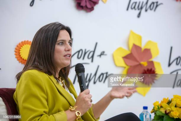 Vanessa LeFebvre President of Lord Taylor speaks at a Women's Empowerment Conversation At Lord Taylor on October 16 2018 in Chevy Chase Maryland