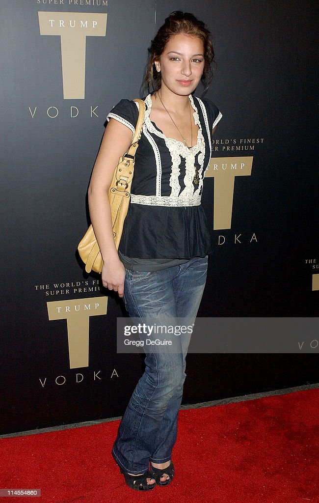 Vanessa Lengies during Launch Party for Trump Vodka - Arrivals at Les Deux in Hollywood, California, United States.