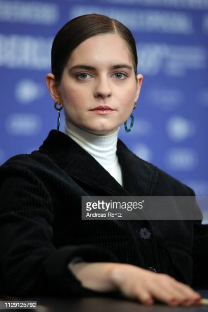 Vanessa Loibl attends the O Beautiful Night press conference during the 69th Berlinale International Film Festival Berlin at Grand Hyatt Hotel on...