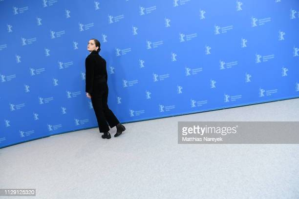Vanessa Loibl poses at the O Beautiful Night photocall during the 69th Berlinale International Film Festival Berlin at Grand Hyatt Hotel on February...
