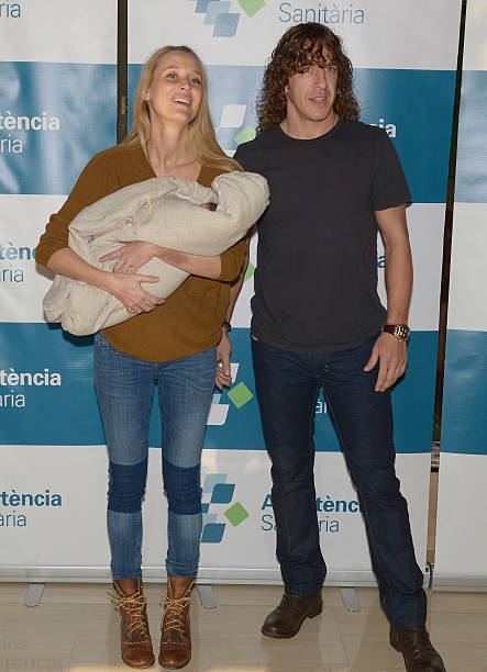 Vanessa Lorenzo and Carlos Puyol Present Their New Born ...