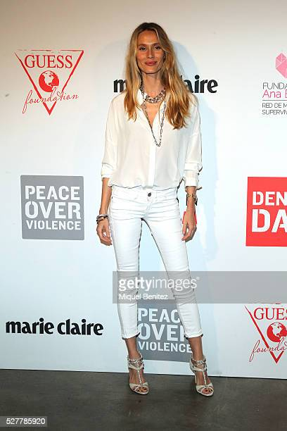 Vanessa Lorenzo attends the Guess Foundation Denim Day Charity at Salt Restaurant W Hotel on May 3 2016 in Barcelona Spain